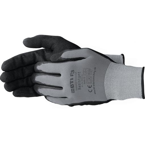 BTI Mechaniker-Handschuh Resistant, grau/schwarz, Größe 7 Farbe: grau